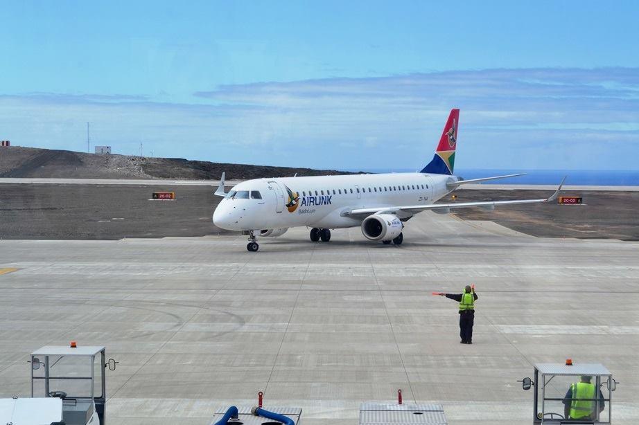 Walvis Bay to refuel flights to St Helena Island