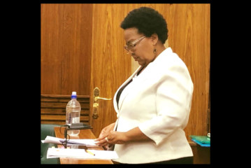 Minister claims she had no mandate to check changes