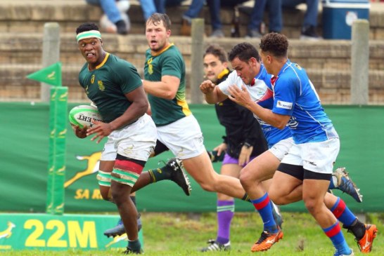 Namibia XV bucks under Junior Bok pressure