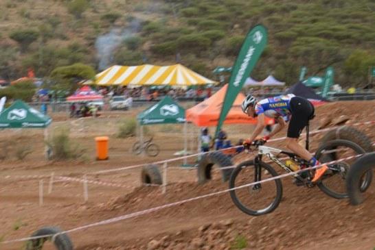 Miller slots in third at African mountain bike games