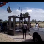 Final preparations at Olukonda Cemetery