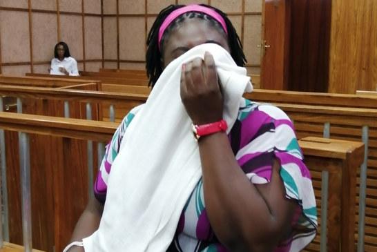 Woman denies trafficking girls in exchange for food