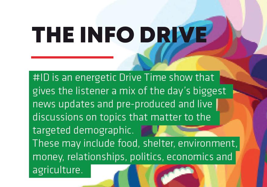 The Info Drive A sound for a new age Informanté Radio