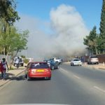 House destroyed by fire in Windhoek