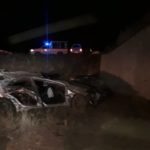 One person dies after collision with bridge
