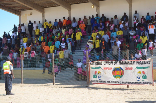 Focus on high unemployment in Namibia on Mayday