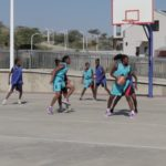 Basketball school league restarts