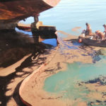 Emergency measures quickly contains oil spill