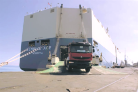 Four Ro-Ro vessels visiting Walvis Bay indicate improved trade