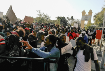 Thousands participate in student protest