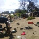 Marginalised illegal squatters living in squalid conditions