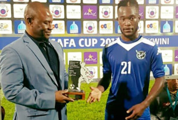 Namibia is out of Cosafa Cup