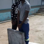 Two arrested for stealing tombstones