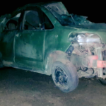 Three injured during vehicle accident on B2