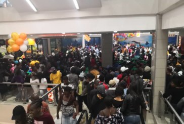 Frenzy ensues at a Windhoek shopping mall