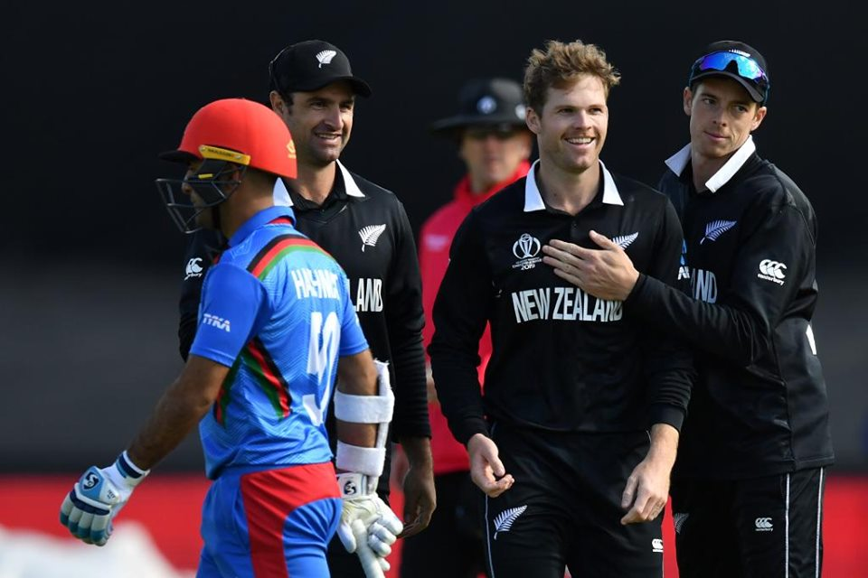 Kiwis get third consecutive victory against Afghanistan