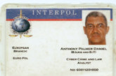 Fake Interpol ID used by fraudster