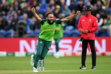 South Africa registers their first victory