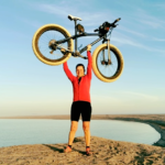 Leeming completes epic cycling journey