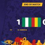 Nigeria beats Guinea