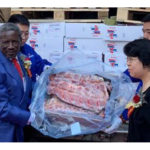 Namibian beef in China