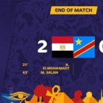 Egypt through to the knock-out round AFCON 2019