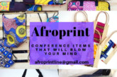 Afroprint – Conference Items