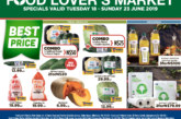 Food Lovers Market – Specials Valid Tuesday 18 to Sunday 23 June 2019