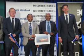 Commercial banks cough up N$5.6 billion for Debmarine's newest Vessel