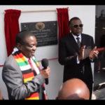 Mnangagwa inaugurates Zimbabwe Dry Port