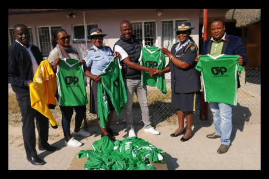 NamPol will look stunning in new sports kit