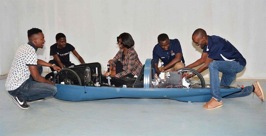 NUST students building energy-efficient prototype car