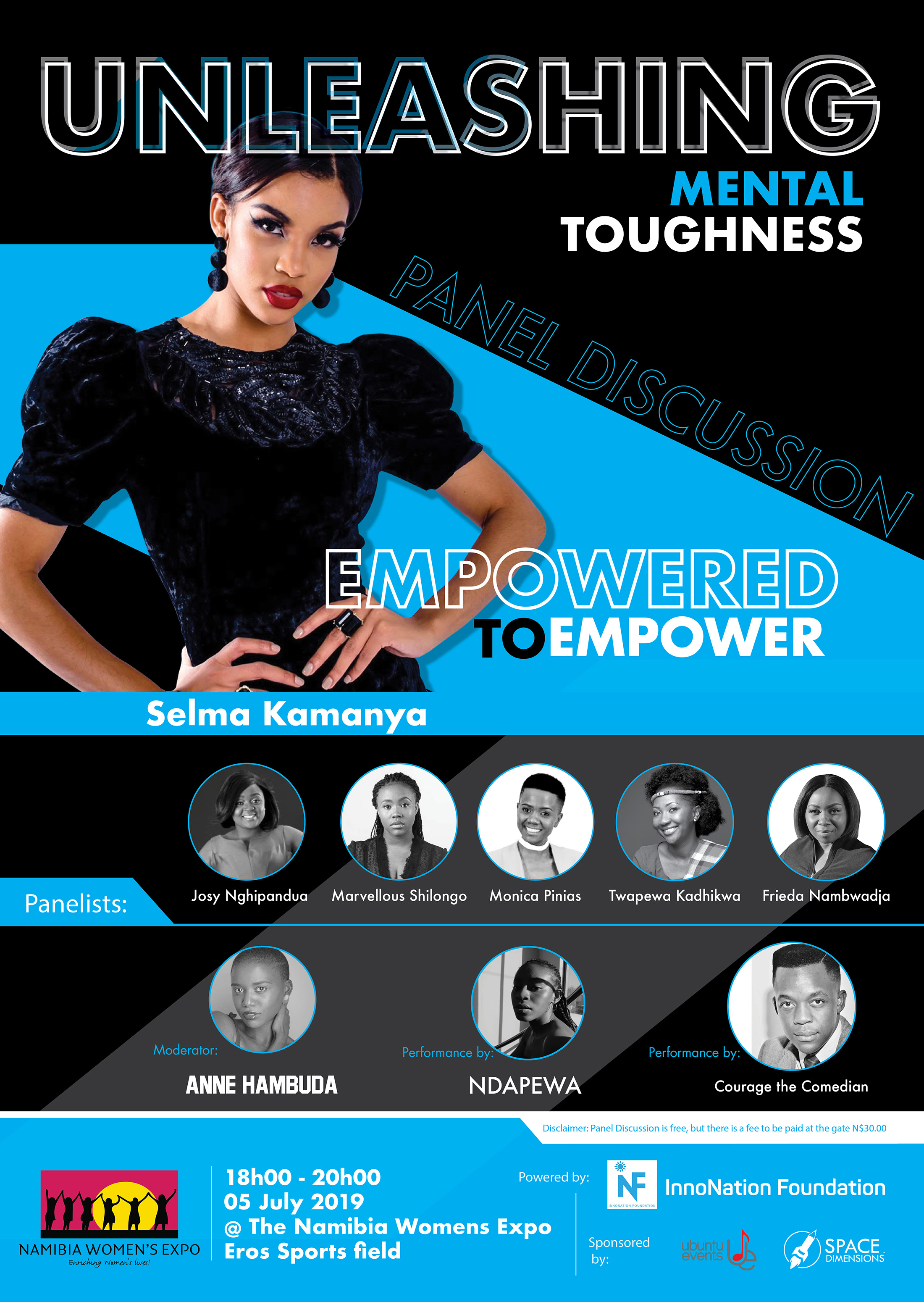 Unleasing Mental Toughness - Namibia Empowered to Empower - Panel Discussion