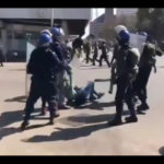 Zim protestors dispersed with tear gas and batons