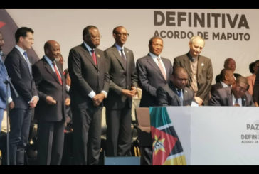President witness historic Mozambican peace pledge