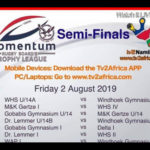 Schools rugby reaches semifinal rounds