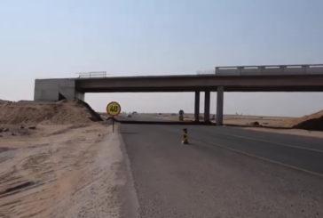 New Desert Highway nears completion