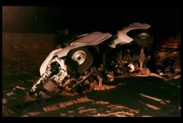 Elderly woman dies in motor accident