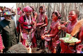Celebrate culture - Nujoma