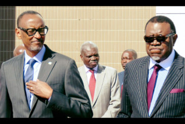 Rwandan President holds talks with Geingob