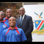 PARALYMPIC team prepares for Netherlands