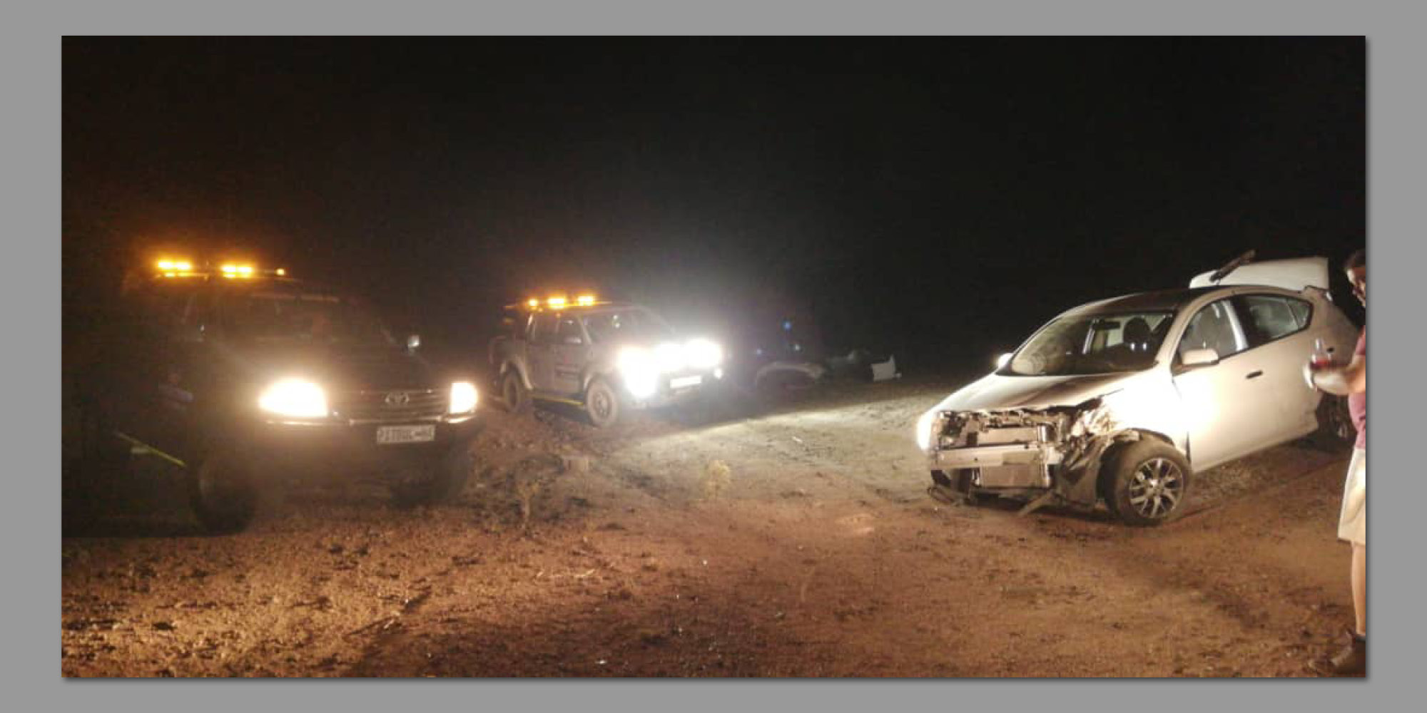 Tragedy avoided on road to Usakos - Informanté