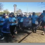 Phosphate protesters march on the High Court