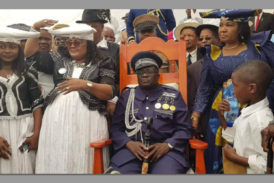 Manasse Zeraeua officially crowned as chief