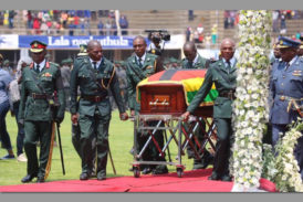 Africa bids farewell to Robert Mugabe
