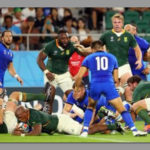 South Africa crushes Italy