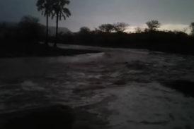 Water flowing in Damaraland